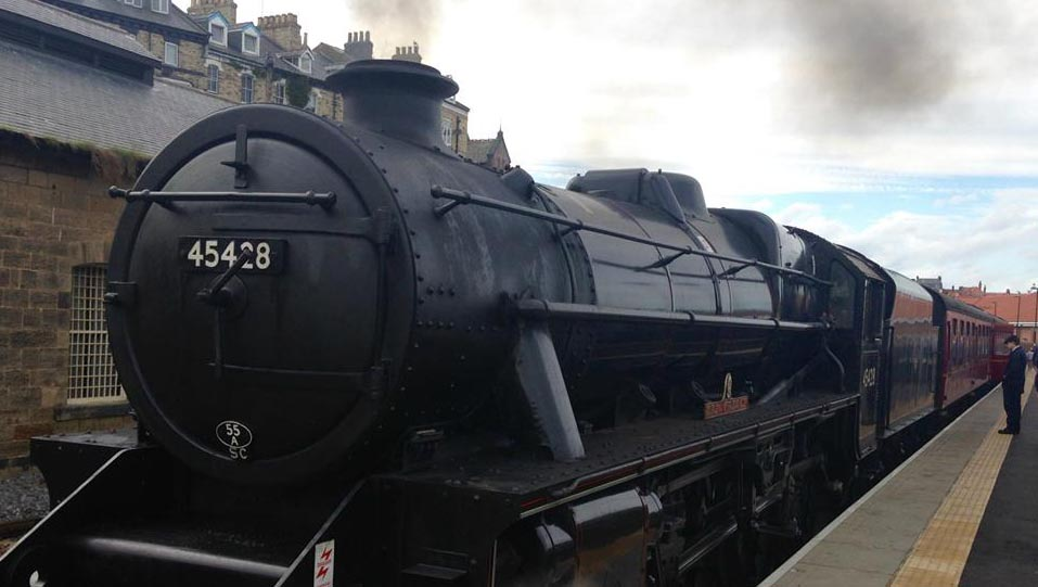 Steam Train trip to Whitby – 13 July