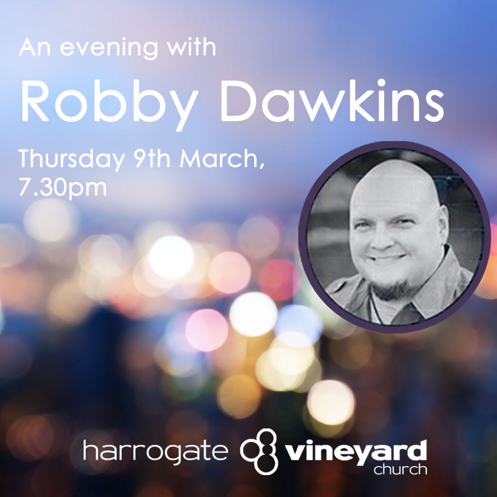 An evening with Robby Dawkins – 9 March