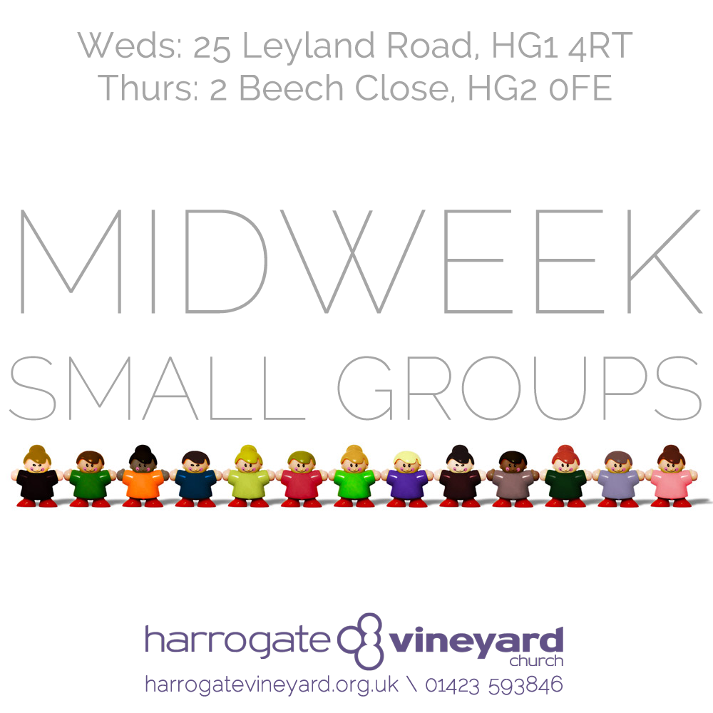 Midweek small groups
