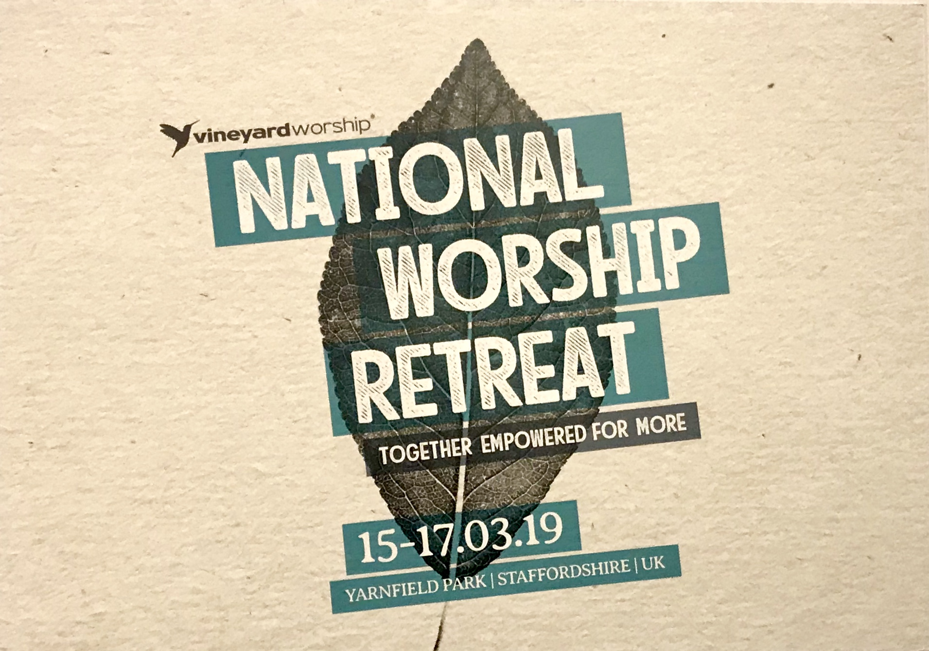 Worship Retreat 2019
